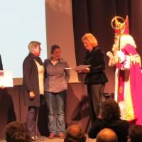 Steun voor de Stichting Franniez door de Rabobank.